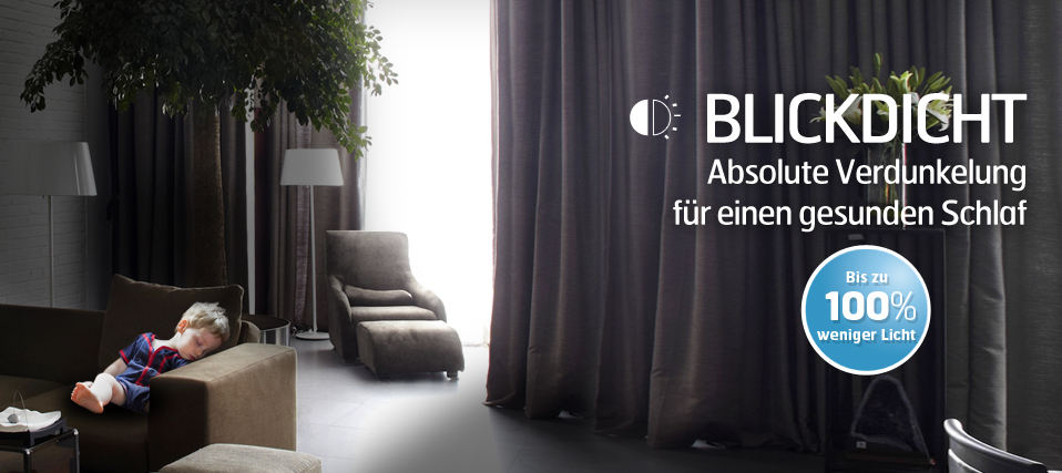 vorh nge zum abdunkeln m belideen. Black Bedroom Furniture Sets. Home Design Ideas